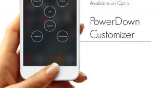 【Tweak】PowerDown Customizer – スライドして電源オフメニューを拡張する