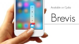 【Tweak】Brevis – クイックアクションの表示スタイルをカスタマイズ