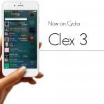 【Tweak】Clex 3 – ミュージックを画面の左右から呼び出して操作できる