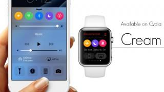 【Tweak】Cream – コントロールセンターのトグルをApple Watchのようにカラフルにする
