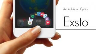 【Tweak】Exsto – フォルダを円状に展開してアプリを起動