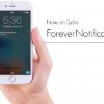 【Tweak】ForeverNotification –  ロック画面の通知を自動削除しないで維持する