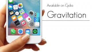 【Tweak】Gravitation – ホーム画面のアイコンを重力に適用させる
