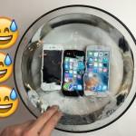 iPhone SEは1時間以上水につけても動作する