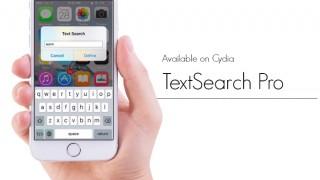 【Tweak】TextSearchPro – 画面のどこからでもインターネット検索ができるようにする