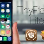 【Tweak】TinyPlayer Lite – ホーム画面やアプリ上にも置けるミニ音楽プレイヤー